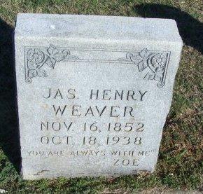 WEAVER, JAMES HENRY - Cooke County, Texas | JAMES HENRY WEAVER - Texas Gravestone Photos