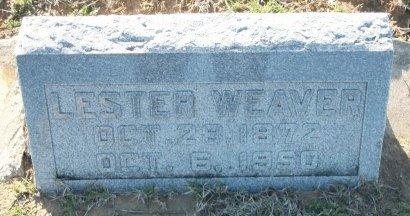 WEAVER, LESTER SILAS - Cooke County, Texas | LESTER SILAS WEAVER - Texas Gravestone Photos