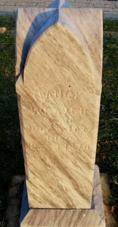 WEAVER, NANCY - Cooke County, Texas | NANCY WEAVER - Texas Gravestone Photos