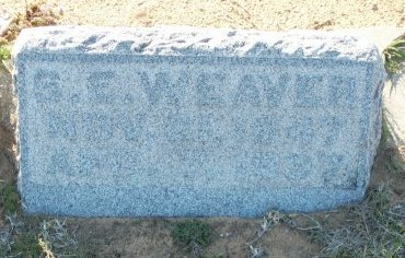 WEAVER, SIMEON EDWARD - Cooke County, Texas | SIMEON EDWARD WEAVER - Texas Gravestone Photos