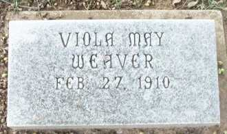 WEAVER, VIOLA MAY - Cooke County, Texas | VIOLA MAY WEAVER - Texas Gravestone Photos