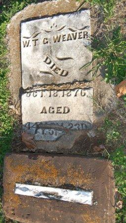 WEAVER, WILLIAM THOMAS GREEN - Cooke County, Texas   WILLIAM THOMAS GREEN WEAVER - Texas Gravestone Photos