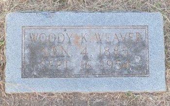 WEAVER, WOODY KING - Cooke County, Texas | WOODY KING WEAVER - Texas Gravestone Photos