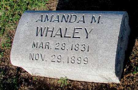 WHALEY, AMANDA M. - Cooke County, Texas | AMANDA M. WHALEY - Texas Gravestone Photos