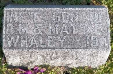 WHALEY, INFANT SON - Cooke County, Texas | INFANT SON WHALEY - Texas Gravestone Photos