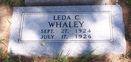WHALEY, LEDA CRISTINE - Cooke County, Texas | LEDA CRISTINE WHALEY - Texas Gravestone Photos