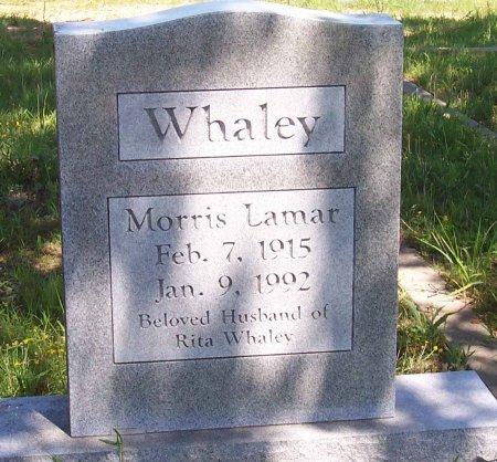 WHALEY, MORRIS LAMAR - Cooke County, Texas | MORRIS LAMAR WHALEY - Texas Gravestone Photos