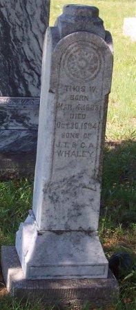 WHALEY, THOMAS W. - Cooke County, Texas | THOMAS W. WHALEY - Texas Gravestone Photos