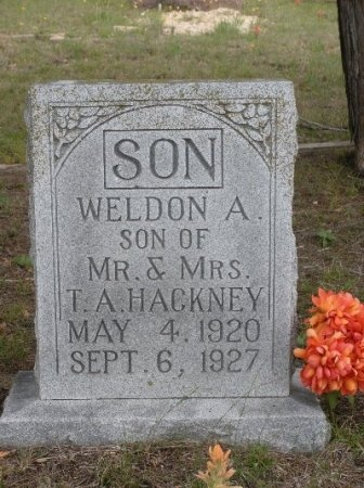 HACKNEY, WELDON A. - Coryell County, Texas | WELDON A. HACKNEY - Texas Gravestone Photos