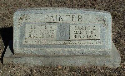 PAINTER, LETTIE ROXIE - Coryell County, Texas   LETTIE ROXIE PAINTER - Texas Gravestone Photos