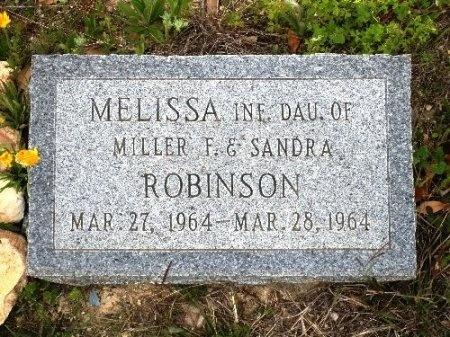 ROBINSON, MELISSA - Coryell County, Texas | MELISSA ROBINSON - Texas Gravestone Photos