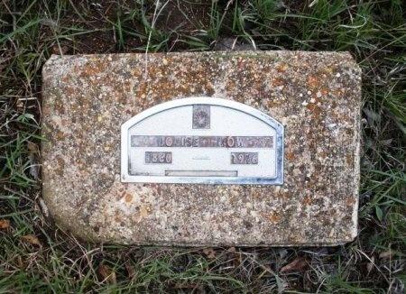 DOSSEY TOW, LOUISA - Coryell County, Texas | LOUISA DOSSEY TOW - Texas Gravestone Photos