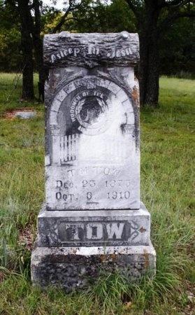 TOW, T. M. - Coryell County, Texas | T. M. TOW - Texas Gravestone Photos
