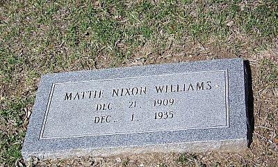WILLIAMS, MATTIE - Coryell County, Texas | MATTIE WILLIAMS - Texas Gravestone Photos