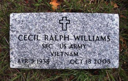WILLIAMS (VETERAN VIET), CECIL RALPH - Coryell County, Texas   CECIL RALPH WILLIAMS (VETERAN VIET) - Texas Gravestone Photos