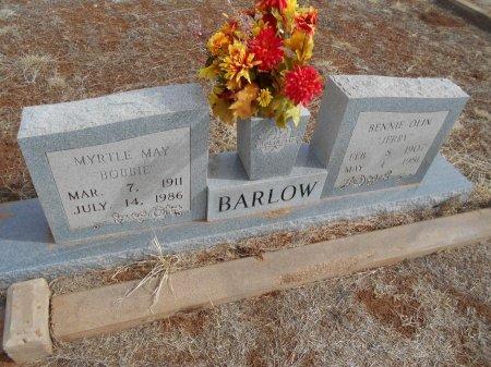 "BARLOW, BENNIE OLEN ""JERRY"" - Cottle County, Texas | BENNIE OLEN ""JERRY"" BARLOW - Texas Gravestone Photos"