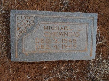 CHEWNING, MICHAEL LLOYD - Cottle County, Texas | MICHAEL LLOYD CHEWNING - Texas Gravestone Photos