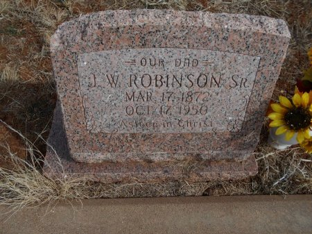 ROBINSON, SR., JOHN WESLEY - Cottle County, Texas   JOHN WESLEY ROBINSON, SR. - Texas Gravestone Photos