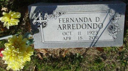 ARREDONDO, FERNANDA - Crockett County, Texas | FERNANDA ARREDONDO - Texas Gravestone Photos
