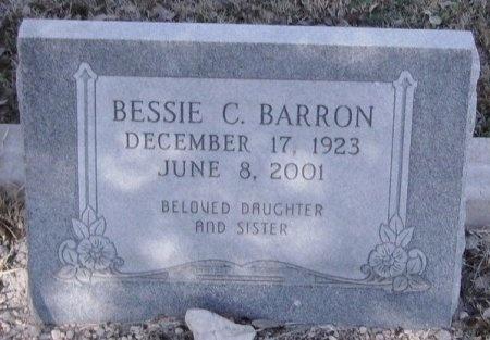 BARRON, BESSIE C. - Crockett County, Texas | BESSIE C. BARRON - Texas Gravestone Photos