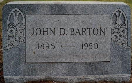 BARTON, JOHN DIXON - Crockett County, Texas | JOHN DIXON BARTON - Texas Gravestone Photos