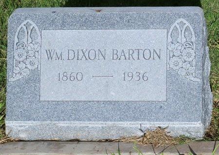 BARTON, WILLIAM DIXON - Crockett County, Texas | WILLIAM DIXON BARTON - Texas Gravestone Photos