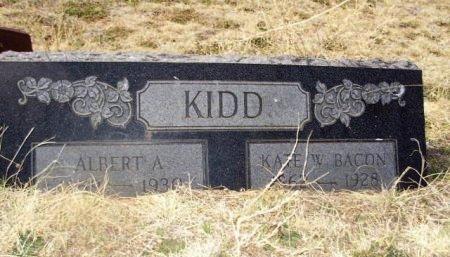 KIDD, ALBERT ASBURY - Crosby County, Texas | ALBERT ASBURY KIDD - Texas Gravestone Photos