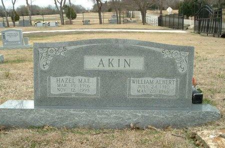 AKIN, HAZEL MAE - Dallas County, Texas | HAZEL MAE AKIN - Texas Gravestone Photos