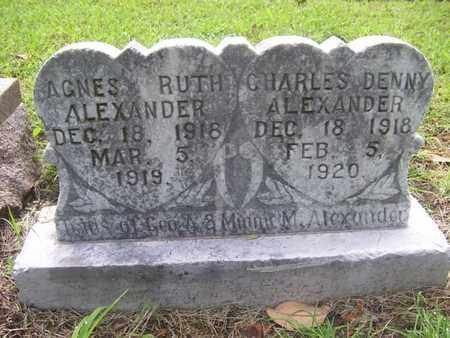 ALEXANDER, CHARLES DENNY - Dallas County, Texas | CHARLES DENNY ALEXANDER - Texas Gravestone Photos