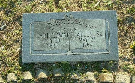 ALLEN, SR., CARL EDWARD - Dallas County, Texas | CARL EDWARD ALLEN, SR. - Texas Gravestone Photos