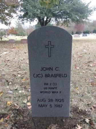 BRASFIELD   (VETERAN WWII), JOHN CHESTER - Dallas County, Texas | JOHN CHESTER BRASFIELD   (VETERAN WWII) - Texas Gravestone Photos