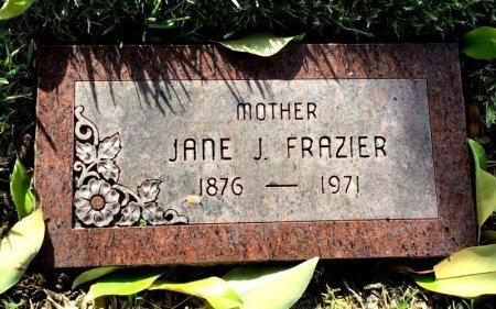 FRAZIER, JANE J. - Dallas County, Texas | JANE J. FRAZIER - Texas Gravestone Photos