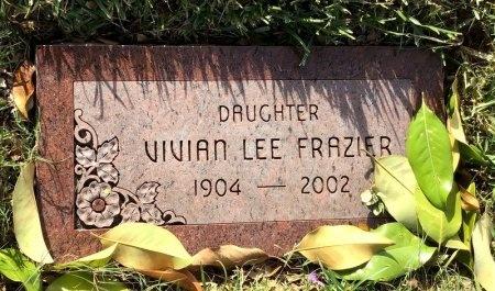 FRAZIER, VIVIAN LEE - Dallas County, Texas   VIVIAN LEE FRAZIER - Texas Gravestone Photos