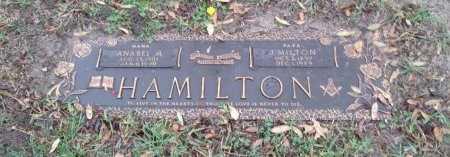 HAMILTON, J. MILTON - Dallas County, Texas | J. MILTON HAMILTON - Texas Gravestone Photos