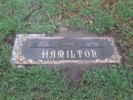 HAMILTON, CLIFFORD E. - Dallas County, Texas | CLIFFORD E. HAMILTON - Texas Gravestone Photos