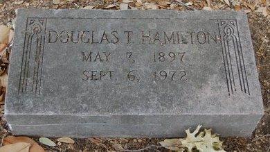 HAMILTON, DOUGLAS TREWHITT - Dallas County, Texas   DOUGLAS TREWHITT HAMILTON - Texas Gravestone Photos