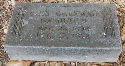 HAMILTON, LOIS - Dallas County, Texas | LOIS HAMILTON - Texas Gravestone Photos