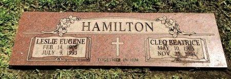 HAMILTON, LESLIE EUGENE - Dallas County, Texas | LESLIE EUGENE HAMILTON - Texas Gravestone Photos