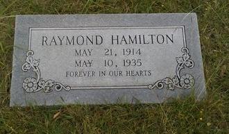 HAMILTON, RAYMOND ELZIE - Dallas County, Texas | RAYMOND ELZIE HAMILTON - Texas Gravestone Photos