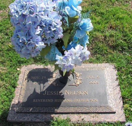 NELSON, JESSIE, REV. - Dallas County, Texas | JESSIE, REV. NELSON - Texas Gravestone Photos