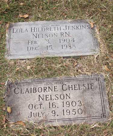 NELSON, CLAIBORNE CHELSIE - Dallas County, Texas | CLAIBORNE CHELSIE NELSON - Texas Gravestone Photos