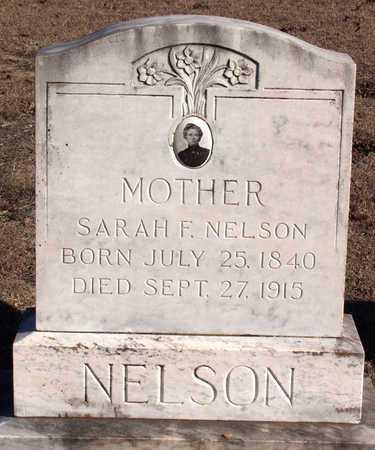 NELSON, SARAH F. - Dallas County, Texas | SARAH F. NELSON - Texas Gravestone Photos