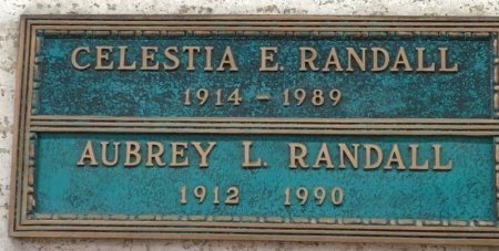 RANDALL, AUBREY L. - Dallas County, Texas | AUBREY L. RANDALL - Texas Gravestone Photos