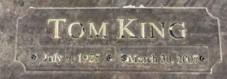 RANDALL, TOM KING (CLOSEUP) - Dallas County, Texas | TOM KING (CLOSEUP) RANDALL - Texas Gravestone Photos