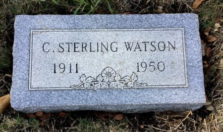 WATSON, C. STERLING - Dallas County, Texas | C. STERLING WATSON - Texas Gravestone Photos