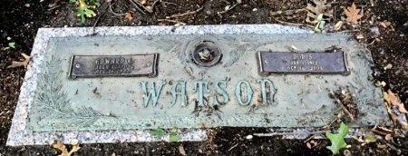 WATSON, EDWARD E. - Dallas County, Texas | EDWARD E. WATSON - Texas Gravestone Photos