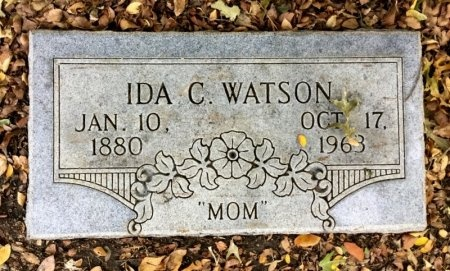 WATSON, IDA C. - Dallas County, Texas | IDA C. WATSON - Texas Gravestone Photos