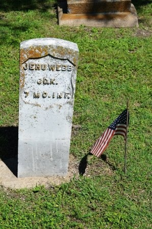 WEBB (VETERAN UNION), JEHU E - Dallas County, Texas | JEHU E WEBB (VETERAN UNION) - Texas Gravestone Photos