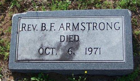 ARMSTRONG, B. F., REV. - DeWitt County, Texas   B. F., REV. ARMSTRONG - Texas Gravestone Photos