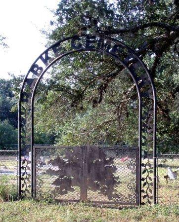 *CEMETERY SIGN,  - DeWitt County, Texas |  *CEMETERY SIGN - Texas Gravestone Photos